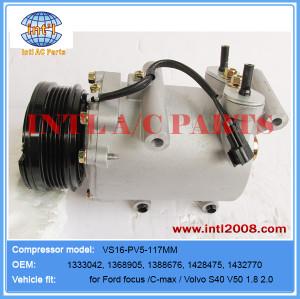 Compressor VS16 PV5 for Ford focus 1.8 /2.0/ Volvo 1333042 1368905 1388676 3M5H19497BA