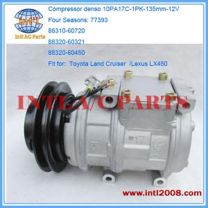 Compressor Denso 10PA17C for Toyota / Lexus 4S#77393 88320-60580 88310-60720 88320-60321 471-0166