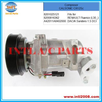 COMPRESSOR RENAULT /DACIA Sandero 1.5   CALSONIC CR12Sc