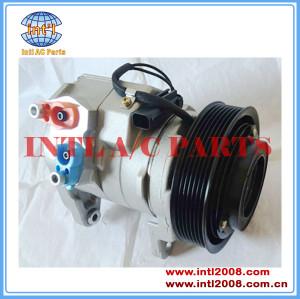 A / C Compressor 10S17E se encaixa para Dodge Ram 1500 2500 3500 2003-2008 5.7L V8 Hemi-03-08 OEM 447220-4822 5135970AA P53021758DB