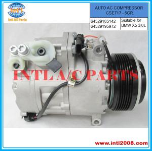 64 50 9 121 758 Auto air compressor CSE717 PV5 fit for BMW X5 3.0L xDrive30i 64 52 9 185 142, 64 52 9 195 972, 64509121758