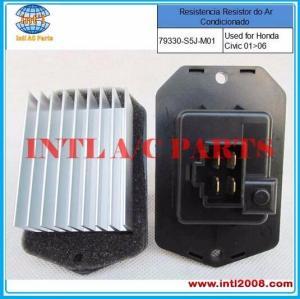 Aquecedor resistor do motor do ventilador para a Honda CR-V Civic VIII / Accord 077800-0682 077800-0930 077800-0980 79330-S5J-M01