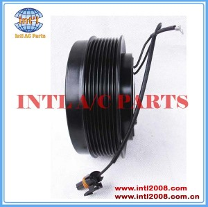 Denso 10PA17C 8PK 146mm A/C compressor Clutch assy for John Deere AT172975 447100-9790 AT172376 447200-2525 447200-4933 DCP99511