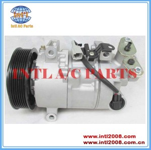 China supply DENSO 6SEL14C auto AC Air Conditioning Compressor for Renault Megane 1.9/2.0L 2008- 8200956574 447150-0010 833844 DCP23031