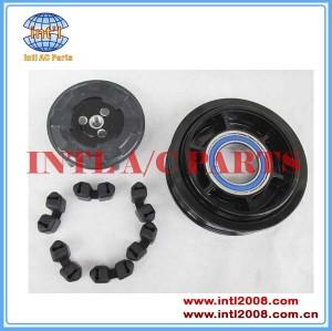 ac Compressor clutch assy PV6 7SEU17C Mercedes Benz W203 W220 00-04 -5241 447220-8852 447180-4040 A0002309111 A0012300011