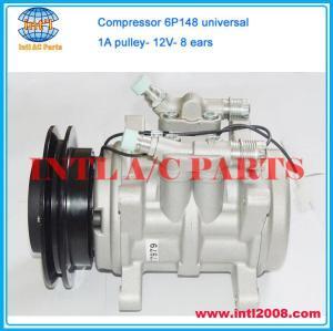 Car air Compressor universal DENSO 6P148 6P 148 1A A pulley R134a 8 ears 82292901 8FK351339721 8FK 351339721