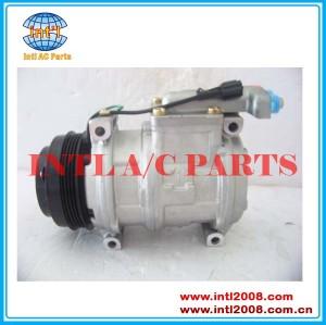 DENSO 10PA17C Compressor de CA do carro para caminhão Fiat Iveco Iveco Stralis 500341617 99488569 500391499 447170-5430 44717054