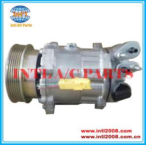 SD 7C16 Auto Air Compressor For CITROEN C5 C6 /PEUGEOT 607 407 2004-