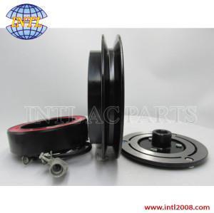 DENSO 10S11C AIR CON conditioner auto ac COMPRESSOR CLUTCH ASSY Toyota 1PK PULLEY 447260-8020 4472608020 88310-0K132 883100K132