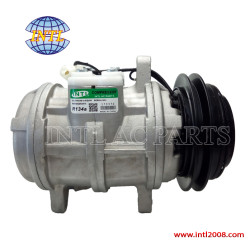 auto Air Conditioning compressor Denso 6E171 A/C AC COMPRESSOR FOR JOHN DEERE WINDROWERS John Deere Tractor TY6766 TY6626 047100-8530 China supply