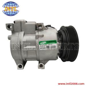 Halla HCC VS16-PV6 A/C compressor for HYUNDAI SANTA FE II   KIA CRDI 977012B100 977011H300 977012B101 977012B150 977012B15