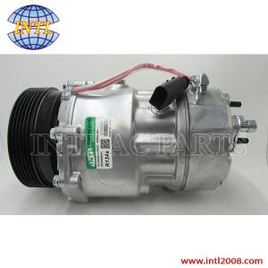 1J0820803F 1J0820803K CO 1233DC 4256 1080 1215 1233 1278 SANDEN 7V16 SD7V16 auto ac compressor for Audi Ford Seat Skoda VW golf 1J0820803L 1J0820803J 7M3820803 YM2H19D629BB 7V16