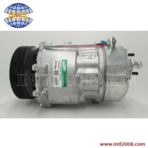 sanden 7V16 SD7V16 air Ac compressor 1998-2006 (VW) Volkswagen Golf Jetta Audi TT 6pk 1J0820803A 1J0820805 1206 1221 CO 1206DC China supply