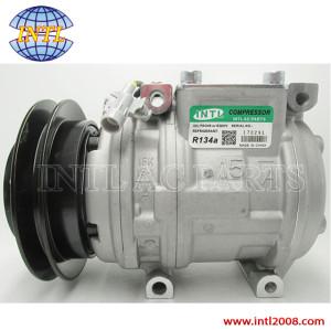 compressor 10PA15C for TOYOTA HILUX RN85 90 105 106 LANDCRUISER HZJ75 78 79 HDJ80 HZJ80 447300-1520
