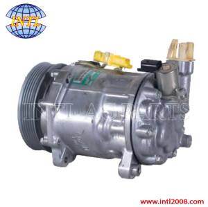 SANDEN SD7C16 1335F car air compressor for Peugeot 407 607 Citroen C5 C6 966055580 9663315680 9671333180