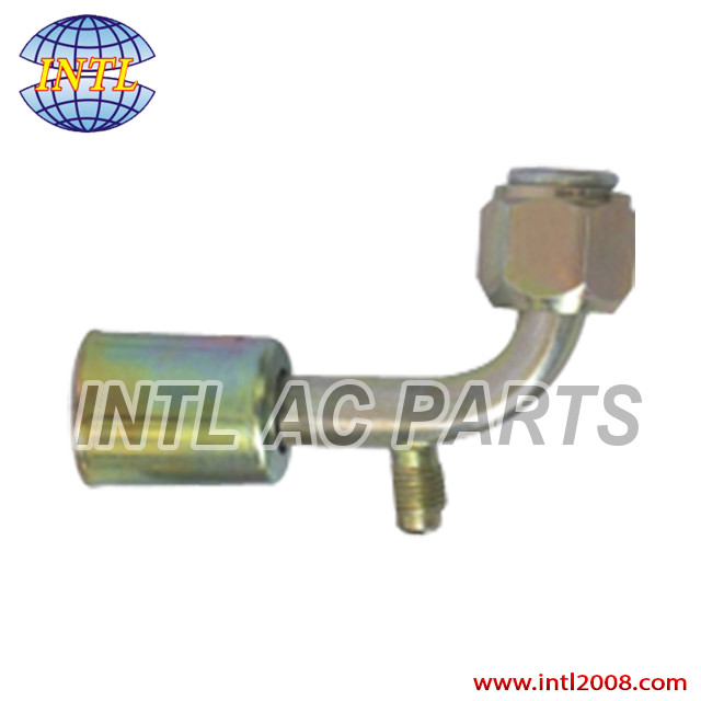 Pictures of Auto AC bead lock hose fitting pipe fitting tube fitting