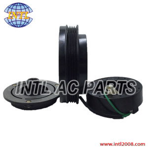 DENSO 10PA15C Daewoo Solar V Excavator Doowon air conditioning auto ac compressor magnetic clutch assembly 1pk pulley 2208-6013A