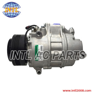 64509121762 64529185146 9195971 Calsonic Kansei Cse717 manufacture in China auto ac compressor for BMW X5 X6 (E53 E70 E72) 3.0 3.5 d (xDrive)