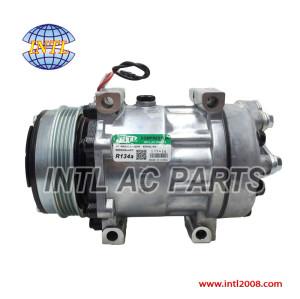 auto ac Compressor SD7H15 8148 6021 for Case-New-Holland Tractor 87709785 / 87802912