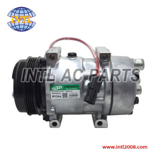 SANDEN 7H15 SD7H15 050408093001 50408093001 8173 84448669 auto ac compressor for CASE/New Holland/Ford