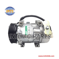 Sanden 7V16-PV6-123mm auto ac compressor Citroen C5 Break Fiat Lancia Phedra Peugeot 406 Break Coupe 607 6pk kompressor 9626902180 6453JF  China auto air conditioner factory