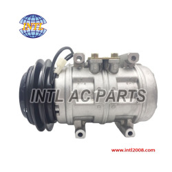 Aircon Compressor 10P17C 1GR applicable for AUDI 80 90 100 1982-1995 OEM#034260805B 034260808D 077260808 047200-6602 (compressor factory)