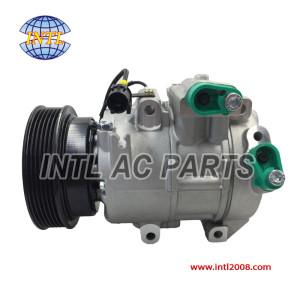 DV16 6SBU16-PV6-119mm  air ac Compressor assy 2007-2010 KIA RONDO L4 2.4L 6PK 97701-1D200 977011D200 AC KOMPRESSOR   China auto air conditioning parts factory