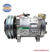 SANDEN SD7H15 W/12V 2GR CLUT AC Compressor for Universal Compressor automotive
