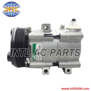 FS10 6pk pulley Air con AC Compressor for FORD F150 F-150 F250 4.2L pickup 97-06 F8FH-19D629-JA F8FH19D629JA 4L3Z19V703CA YF3199  Auto factory air conditioner