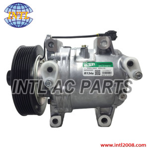 Calsonic CR-14-PV7- 135mm  ac compressor for Nissan Navara D40 2.5/ 2.5 dci diesel 2005-/Equator 92600-EB40E 92600-EB40B 92600-EB400 92600-EB70A  China manufacturer
