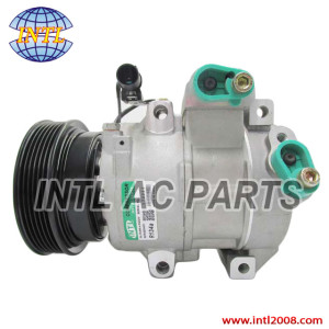Doowon 6SBU16C/DV16 Kia Rondo 2.4L 2.7L/Carens 2.0 ac compressor China supplier 977013E110 977012B151 TSP0155940 0K247-18-100 0K247-10-271C