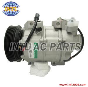 92600ET82A AUTO compressor DNK335 PV6 used for Nissan X-Trail(T31) 2.5L 92600JG30A 92600ET82A AUTO A/C COMPRESSOR