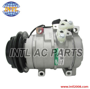 Denso 10S17C air conditioning ac compressor for Mitsubishi Shogun/ Pajero III 3.2 DI-D 2000-2008 447170-6643 447220-3655 MR568289 MR500876 MR500958