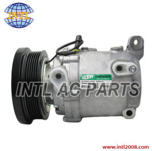 Pump air conditioning a/c ac compressor for Isuzu D-max Chevrolet LUV Dmax 3.5/Holden RODEO 8973694180 897369-4180 2407-4600-01P A4201178A03000 2407460001P