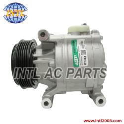 Compressor denso SCSB06 SCS06 for Fiat stilo Punto Idea 500 bravo Panda 1.2 1.4 2003- /Lancia Musa Ypsilon 46782669 51747318 5A7875000 447100-1870 5A787-5000