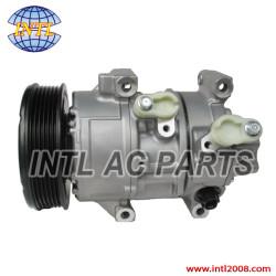 denso 5SE11C PV6 ac compressor for Toyota Yaris 1.5 2007-2011 8831052481 88310-52481 88310 52481 (compressor factory)