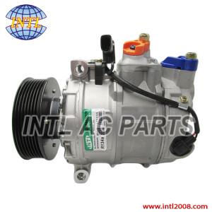 China factory Denso 7SEU16C Vw touareg/Audi Q7 4L 3.6 2001-2010 7PK/110MM 12V Auto car ac a/c pump compressor/kompressor 3D0820803M 3D0820803R 7L6820803D 7L6820803G