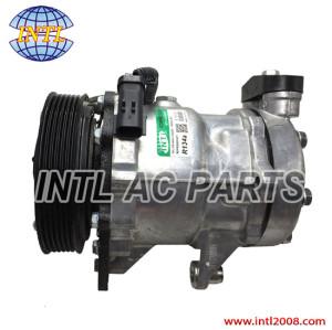 SANDEN 7H15 SD7H15 auto ac air a/c compressor Dodge Dakota Durango Ram 1500 V8 4.7L 4847 55056076AA 55057333AA 4854 6PK