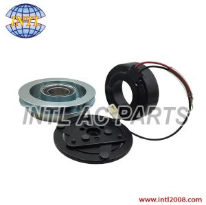 SANDEN 7H15 709 air auto car ac a/c compressor magnetic clutch assembly DAF XF95/105 1GA 1 groove pulley 1251063 1264800 1444295