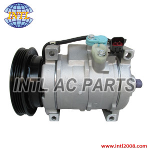 Denso 10S17C auto ac compressor China supplier Dodge Neon 2.4L 2.0L  Chrysler PT Cruiser Plymouth 4pk pv4 5264760AB 5278757AA 447220-3861