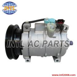 Denso 10S17C auto ac compressor China supplier Dodge Neon 2.4L 2.0L  Chrysler PT Cruiser Plymouth 4pk pv4 5264760AB 5278757AA 447220-3861