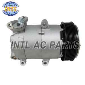 VS16 AC compressor for Ford Transit Bus 2.4 TDCi 2006- 1383679 1379474 6C1119D629BE 6C1119D629BD 6C1119D629BC