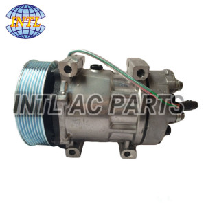Sanden SD7H15 air conditioning ac compressor for TRUCK 6028 6034 8044 8113628 20538307 11104251