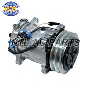 New SANDEN 4318 5299 A/C Compressor w/Clutch