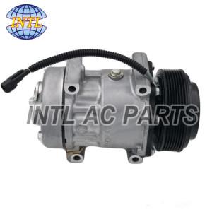 NEW A/C Compressor and clutch for LAND ROVER 4399 4399E 7H12-19D623-AC 4101E 4151U