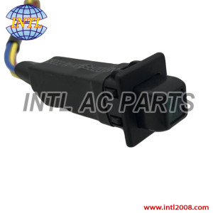 Front Single AC Switch SQUARE 24V