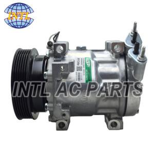 China supply Sanden 7V16 air conditioning AC compressor for Renault Kangoo Renault Clio II Dacia Logan 8200117767 8200603434 Sanden 1177