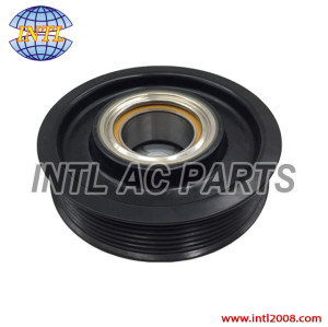 auto air conditioning ac compressor clutch pulley for 7SEU16C 6PK 115/110mm