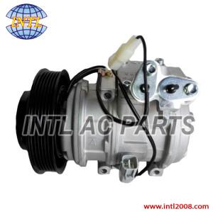 AIRCON Compressor 447170-8520 10PA15L AUTO AC compressor for TOYOTA Altis 1.8L 2001-2004  6pk, 146mm