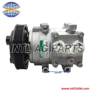 HS15 HCC HALLA air conditioning ac compressor Ford Fiesta Ka Ecosport 1.6 2.0 2002-08 5S65-19D629-DA 5N15-19D629-BA 5S6519D629DA 5N1519D629BA